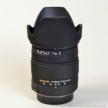 Sigma 18-50mm f:2,8-4,5 DC OS HSM til Pentax