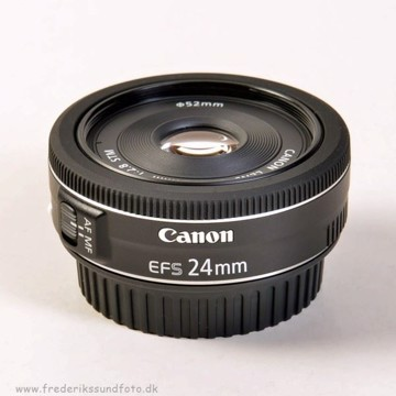 Canon EF-S 24 mm. f/2.8 STM