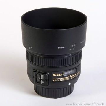 Nikkor AF-S 50mm f: 1,8G *Cashback 375,-
