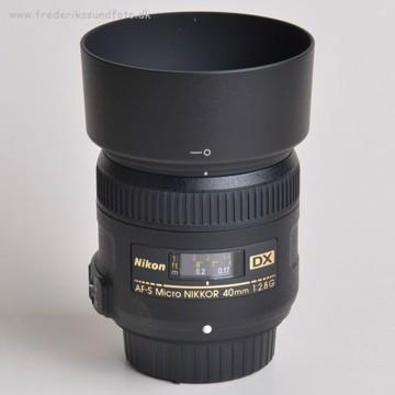 Nikon AF-S DX Micro 40mm f:2.8G *Cashback