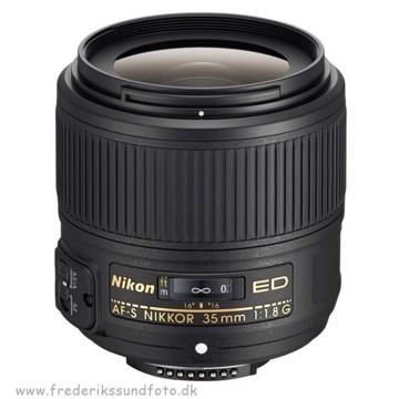 Nikon AF-S Nikkor 35mm f:1,8G ED FX *Cashback