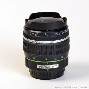 Pentax 10-17mm f:3,5-4,5 ED