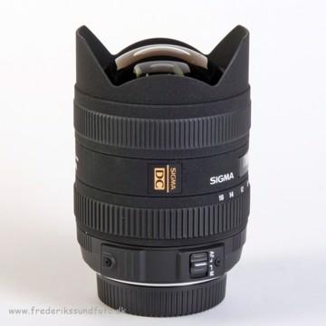 Sigma 8-16mm f:4,5-5,6 DC HSM t/Nikon