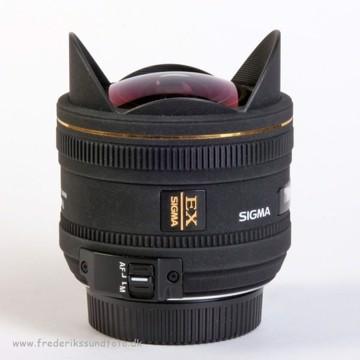 Sigma 10mm f:2,8 EX DC Fisheye t/Nikon