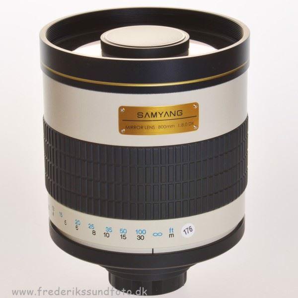 Samyang 800mm f/8 Spejltele objektiv