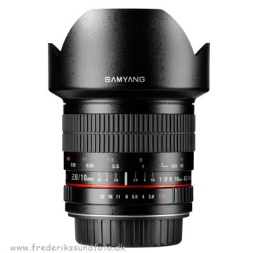 Samyang 10mm f:2.8 ED AS NCS CS til Canon