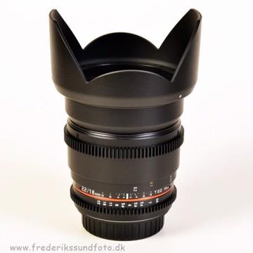 Samyang 16mm T2.2 VDSLR t/Canon