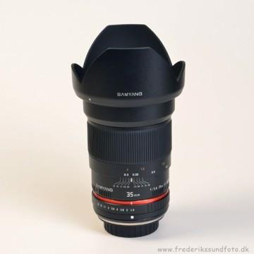 Samyang 35mm f1,4   til 4:3