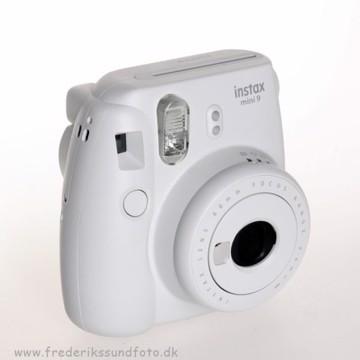 Fujifilm Instax mini 9 Smoky White inkl. bred rem