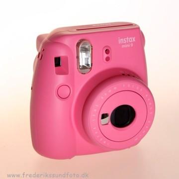 Fujifilm Instax mini 9 Flamingo Pink inkl. taske