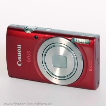 Canon IXUS 185 rød  inkl. etui
