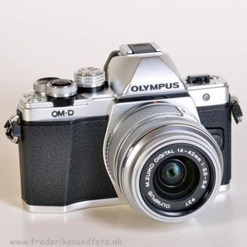 Olympus OM-D E-M10 MK II 14-42mm II R Sølv BONUS*