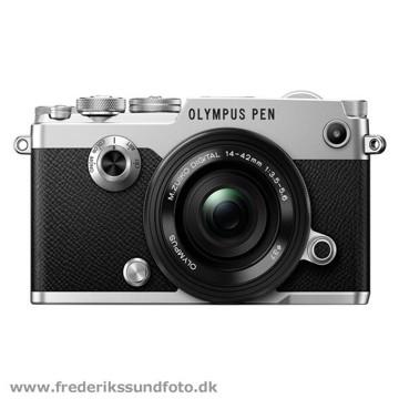 Olympus PEN F Sølv m/17mm f/1.8