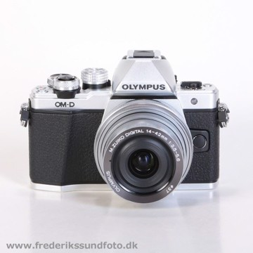 Olympus OM-D E-M10 MK II m/14-42mm EZ Sølv BONUS*