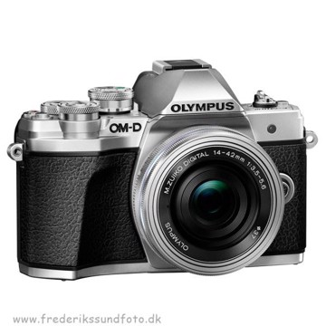Olympus OM-D E-M10 MK III m/14-42mm EZ Sølv BONUS*