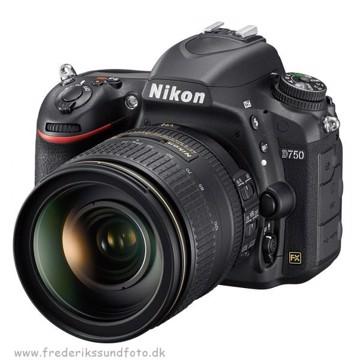 Nikon D750 m/24-120mm f:4 ED VR *Cashback 1490,-