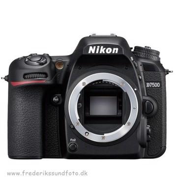 Nikon D7500 Hus *Cashback 2235,-