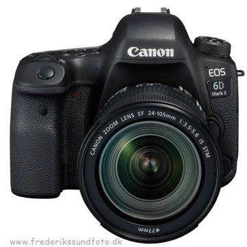 Canon EOS 6D MK II m/24-105mm IS STM