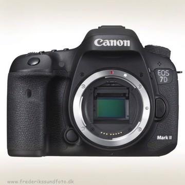 Canon EOS 7D MK II hus Inkl. W-E1 & *RØDE Mic.