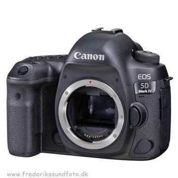 Canon EOS 5D MK IV Hus  *Kampagne inkl. RØDE mic.