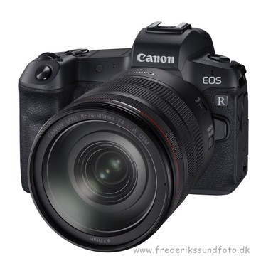 Canon EOS R m/24-105mm & adapter