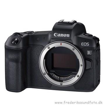 Canon EOS R Hus med R-EF Adapter