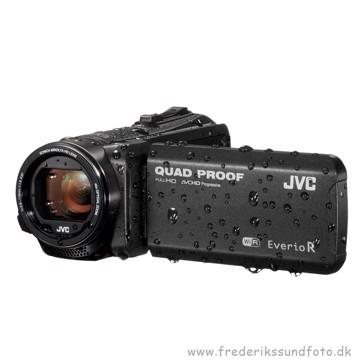 JVC Everio R GZ-RX605BE 5 timer batteri & vandtæt