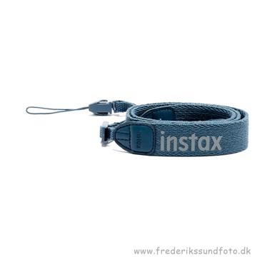Fujifil Instax mini kamera-rem blå