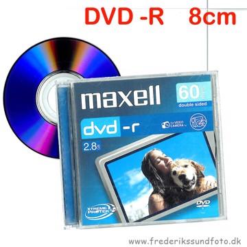 Maxell DVD -R 8cm 2,8GB 60min.