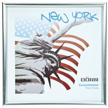 Dörr New York 13x13 ramme sølv