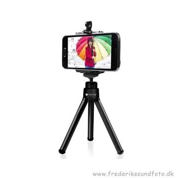 Techly Smartphone/kamera mini stativ