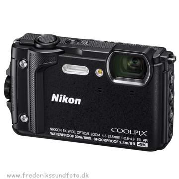 Nikon Coolpix W300 Sort