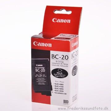 Canon BC-20 sort blækpatron