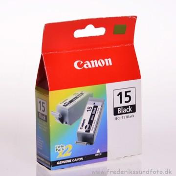 CANON BCI-15 Sort blækpatron