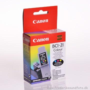Canon BCI-21 farve blækpatron
