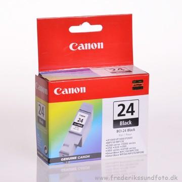 CANON BCI-24 Sort blækpatron