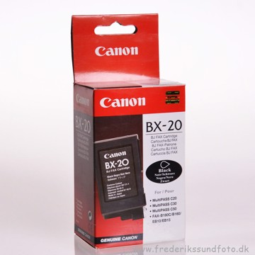 Canon BX-20 Sort blækpatron