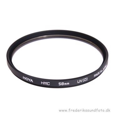 Hoya HMC UV(0) filter 58mm