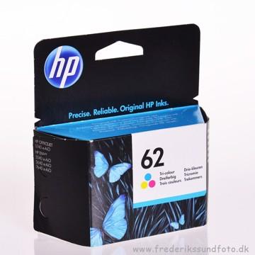 HP 62 blækpatron farve