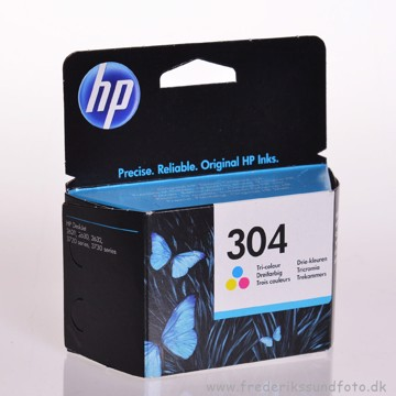 HP 304 farve blækpatron