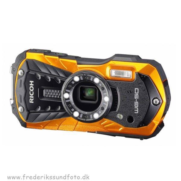 DEMO Ricoh WG-50 Orange
