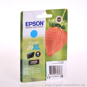 Epson Claria 29 XL Cyan blæk