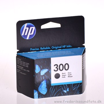 HP nr.  300 Sort blækpatron