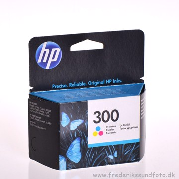 HP nr. 300 Farve blækpatron