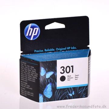 HP nr. 301 Sort blækpatron
