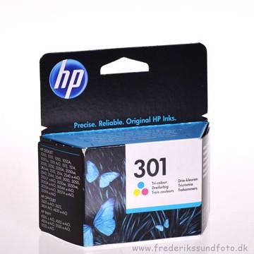 HP 301 Farve blækpatron