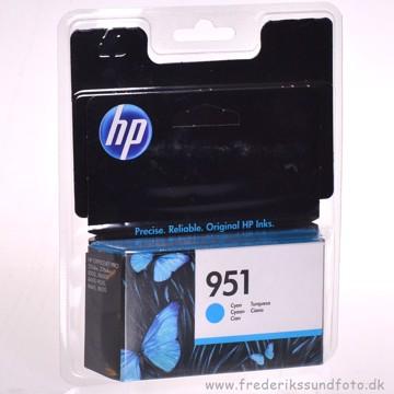 HP 951 Cyan blækpatron