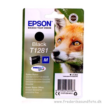 Epson T1281 Sort printerpatron