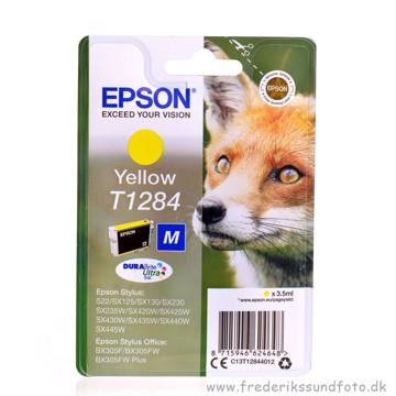 Epson T1284 Gul printerpatron