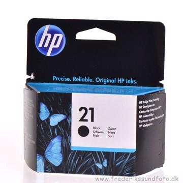 HP 21 Sort Blækpatron
